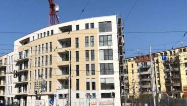 Wohn- und Geschäftshaus am Leipziger Westplatz
